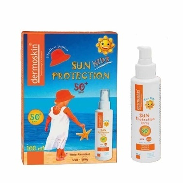 Dermoskin Dermoskin Sun Kids Protection SPF50 Spray 100ml Set Renksiz